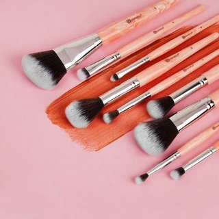 BH COSMETICS ROSE QUARTZ 9PC BRUSH SET