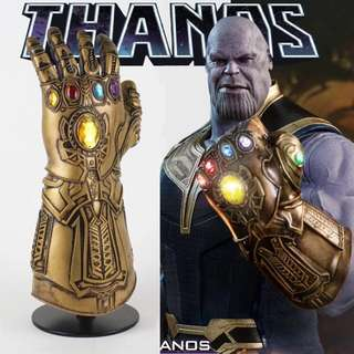 Thanos infinity gauntlet glove costume