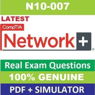 comptia network plus n10-007 exam objectives