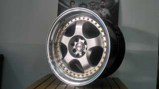 work maester ring 17x85-95 cocok jazz yaris livina fiesta mazda2 vios city freed dll