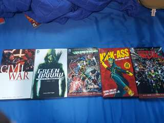 Comics (Marvel/DC)