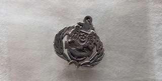 SAF RSN Navy collar pin