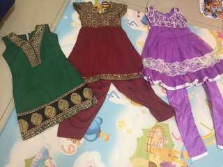 3-4y Little Girls Clothed