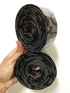 Crash Bar Tape: Grey Black Cammo