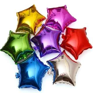⭐ Star Shaped Party Balloons (25cm)