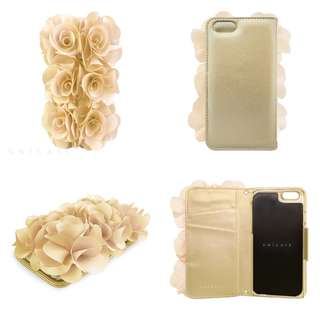 iPhone 6 6S Case Flower Diary Imported from Japan