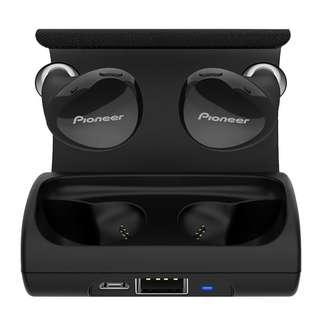 Pioneer SEC-E221BT 真無線藍牙耳機 tws Bluetooth 藍牙 4.2 黑/白