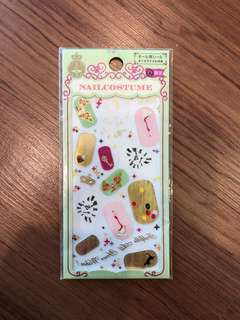 Japan FULLY IMPORTED Nail Stickers