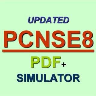 Palo Alto Certified Network Security PCNSE Test PCNSE8 Exam QA PDF+Simulator