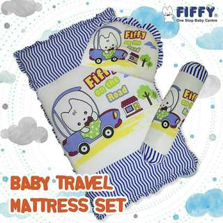 Fiffy Baby Travel Mattress Set