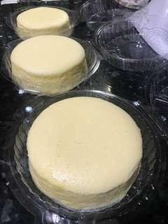 "6"" japanese cheesecake"