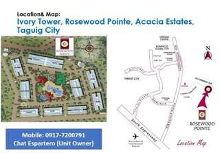 Rush sale!! Condo near BGC Taguig