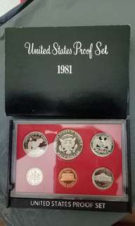 美国钱币 proof coin 1set
