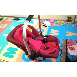 BABY CARRIER SEAT SWEET CHERRY SCR7