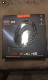Plantronics Gaming Headset Rig500HS (BNIB) compatible with PS4 &Xbox1