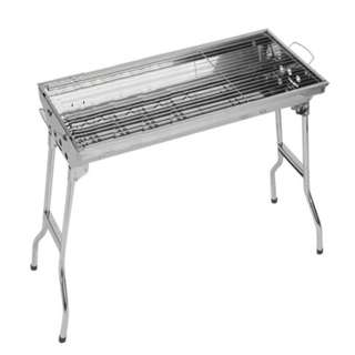 Barbecue Grill Rack Foldable Portable BBQ Pit 户外烧烤炉