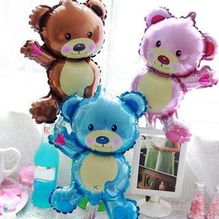 🐻 Cute Bear Balloons (45cm)
