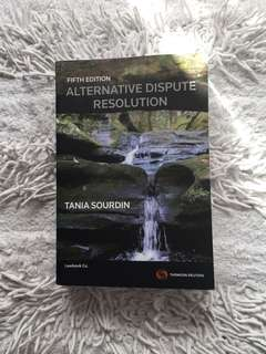 Alternative Dispute Resolution (Fifth Edition) by Tania Sourdin