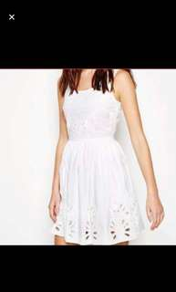Jack Wills White Summer Dress