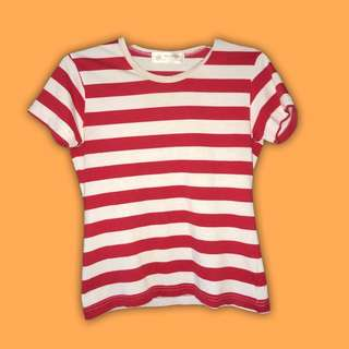 Red & White Striped Shirt