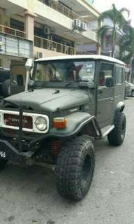 Land Cruiser BJ40 (FJ40) tip top, excellent running condition