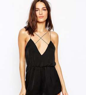ASOS strappy playsuit
