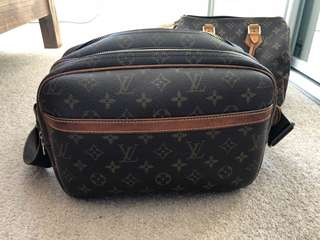 Authentic vintage Louis Vuitton reporters bag