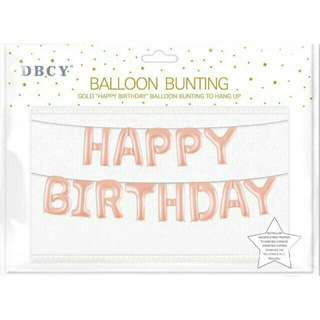 """""""HAPPY BIRTHDAY"""" FOIL BALLOONS 16 INCHES"""