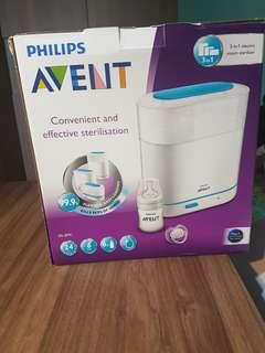 Philips 3 in 1 steam sterilizer