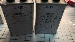 Marcon 2.3uf oil capacitor