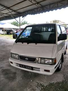 NISSAN VANETTE 1.5 manual 2002