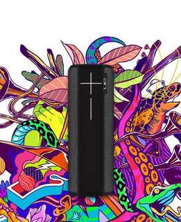 Untimate ears Ue boom 2 ipx 7 portable Bluetooth speaker - phantom black