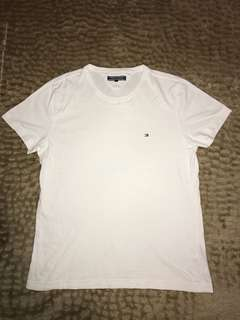 Men's White Tommy Hilfiger Shirt