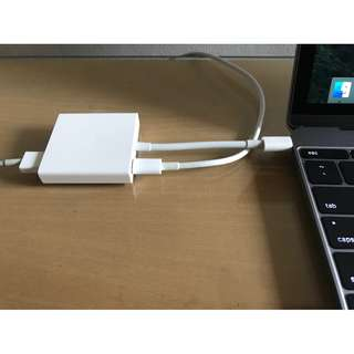 USB C to USB and HDMI for MacBook 12/13/15-inch with/without Touchbar