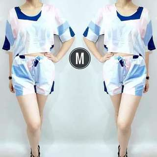 Blouse and Short Terno