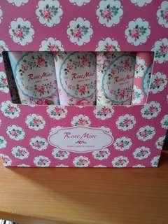Korea Rose Mine Hand cream giftset of 5