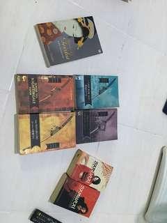 Paket buku samurai, lian hearn 4 seri, memoirs of geisha
