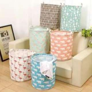Foldable Laundry Basket Organizer (Assorted Design)