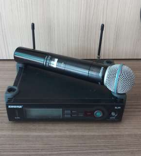 SHURE SLX Wireless microphone system (Original)