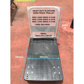 ~Heavy Duty Foldable Platform Hand Truck Trolley - 100% BRAND NEW!