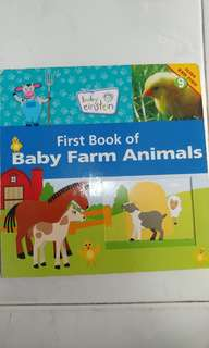 First Book of Baby Farm Animals (toddler book)