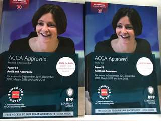 ACCA F8 F9 Study Text & Practice Revision Kit