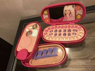 Barbie manicure set