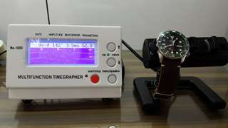 Timegrapher (measures frequency, beat error, amplitude, etc) mechanical watches