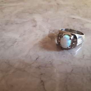 Cincin Batu Opal Kalimaya Australia