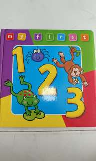 My First 123 (Toddler book)