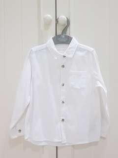 Zara baby white formal shirt
