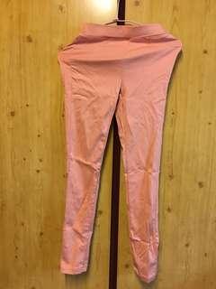 🚚 粉色貼腿褲