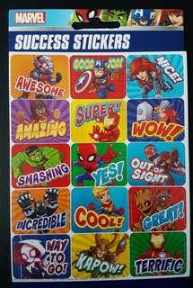 [INSTOCK] BN High Quality Cartoon Marvel Superheroes Motivational Stickers
