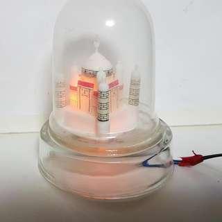 Tajmahal night lamp electric